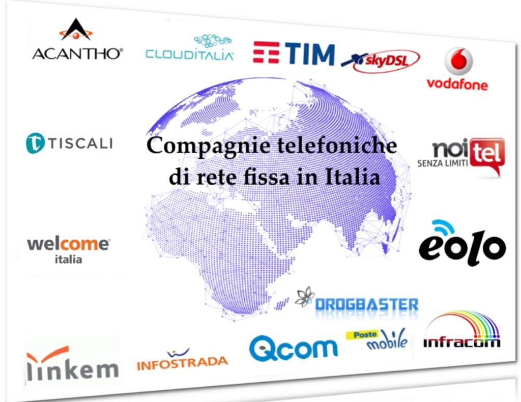 compagnie telefoniche di rete fissa in Italia