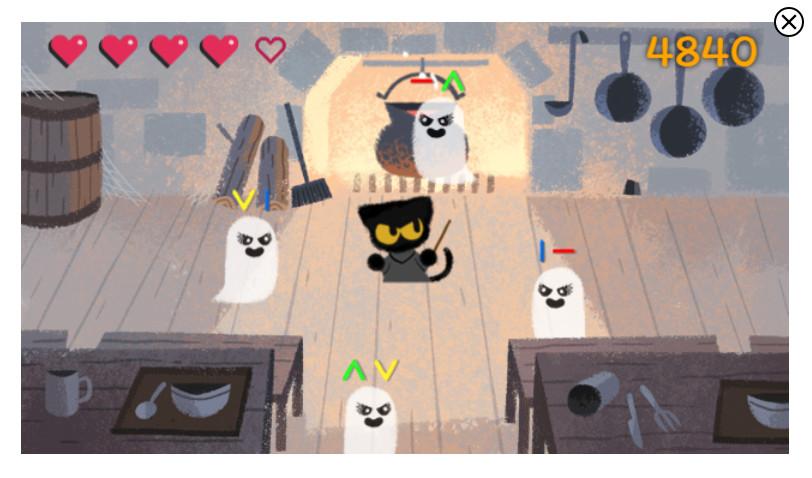 doodle google halloween 2016