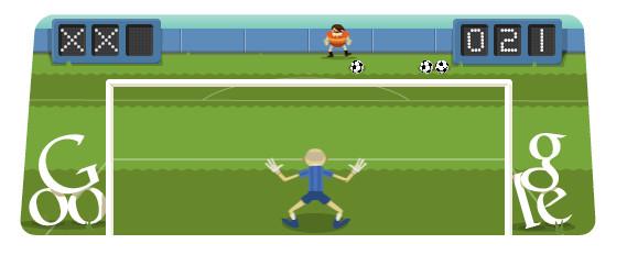 Doodle Gioco di calcio 2012