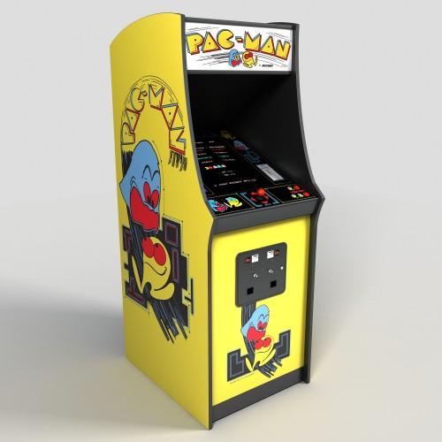 video gioco di pac-man anni 1980