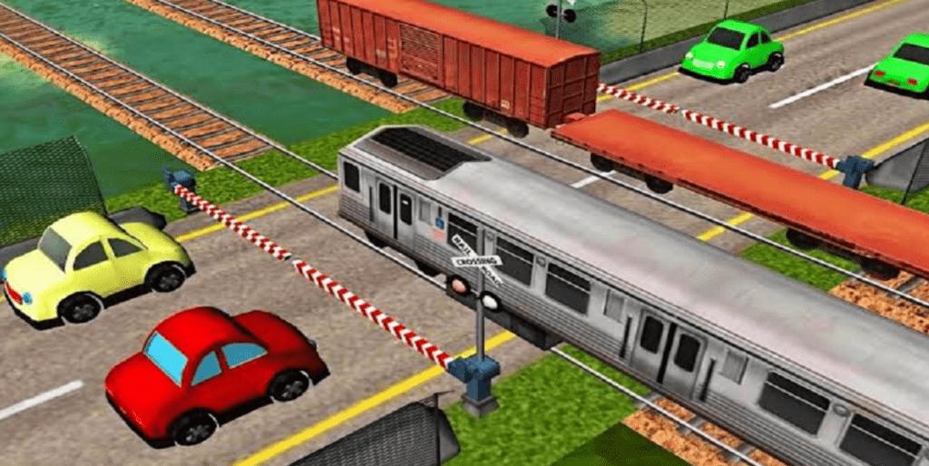 Gioco controlla traffico dei treni
