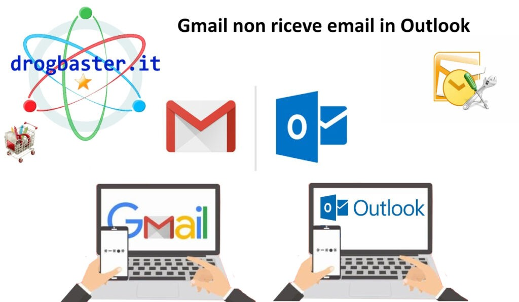 Gmail non riceve email in Outlook
