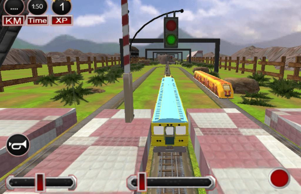 gioco di simulazione guida del treno