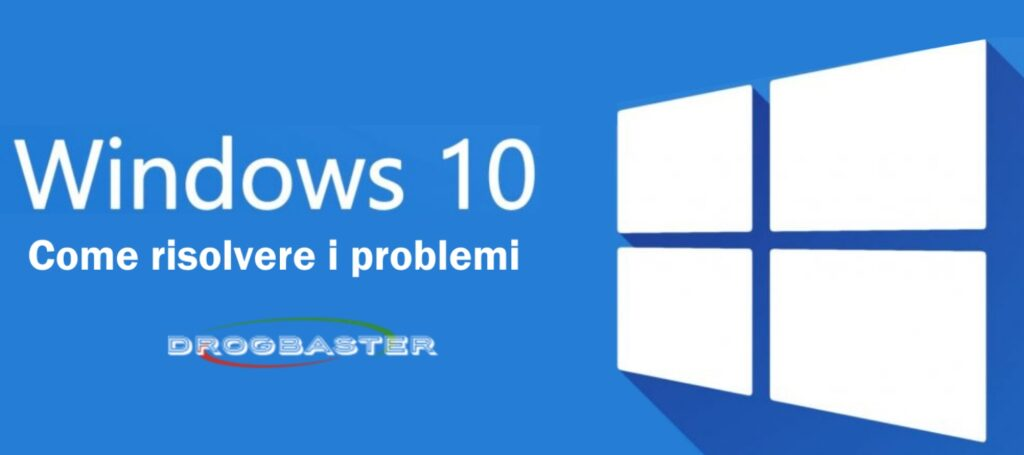 risolvere i problemi se Windows 10